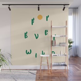 Forever Wild Cacti Wall Mural