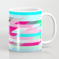 flag Mugs featuring Flag by allan redd