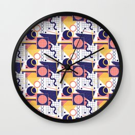 Beachy Peachy Wall Clock