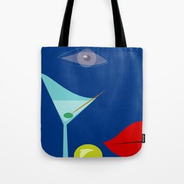 Cocktail Martini Tote Bag