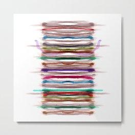 Rainbow Stripes 1 Metal Print
