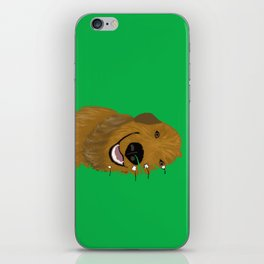 Goldendoodle in Grass iPhone Skin