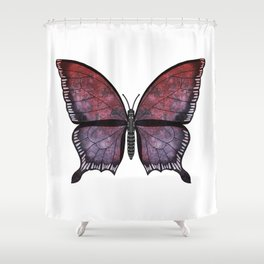 grenadine phantom (Fantosme grenade) Shower Curtain