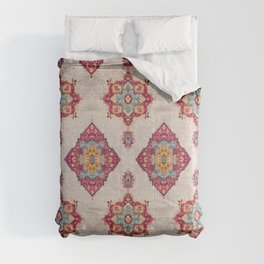 N251 - Oriental Traditional Vintage Moroccan Style  Comforters