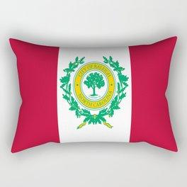 Flag of Raleigh Rectangular Pillow
