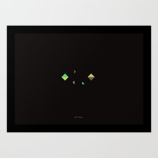 Oslo - Citries Project Art Print