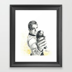 Star Trek: Capt. James T. Kirk Framed Art Print