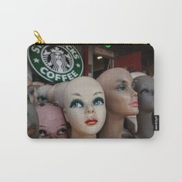 Mannequins & Starbucks Carry-All Pouch