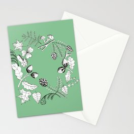 Forest Wreath Stationery Cards