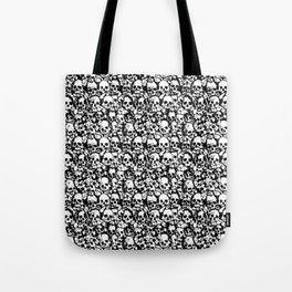 Skull Wall Tote Bag