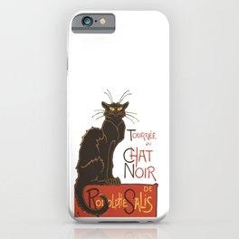 Tournee du Chat Noir De Rodolphe Salis Vector iPhone Case
