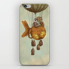 Around the World in the Goldfish Flyer iPhone & iPod Skin