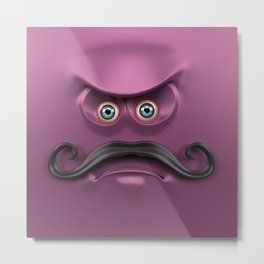 BOXAAT PURPLE Metal Print