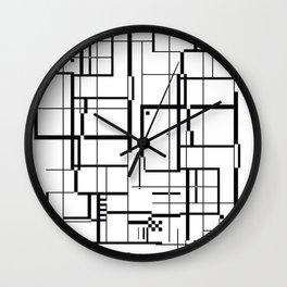 minima Maze. Wall Clock
