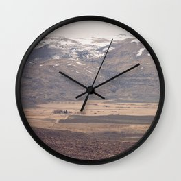 Desert Farm Wall Clock