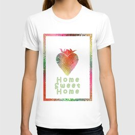 Home Sweetest Home -Typography T-shirt