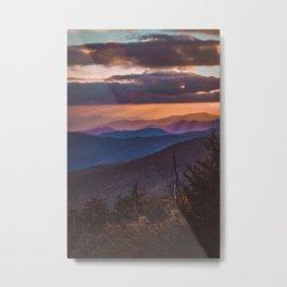 Clingman's Dome Metal Print