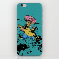 simpsons iPhone & iPod Skins featuring Simpsons 25th by sinonelineman