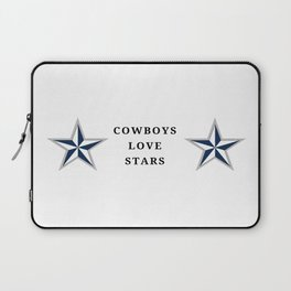 Cowboys Love Stars Laptop Sleeve