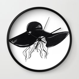 Fugitive Wall Clock