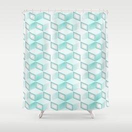 GS Geometric Abstrac 010AW S6 Shower Curtain
