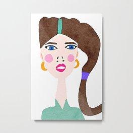 Maria - Girl Next Door Metal Print