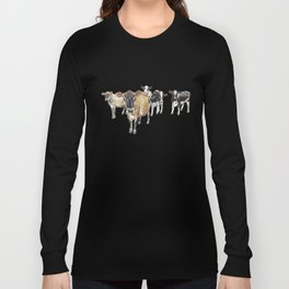 Cow Crowd Long Sleeve T-shirt