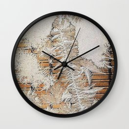 Ice 4   Glace 4 Wall Clock