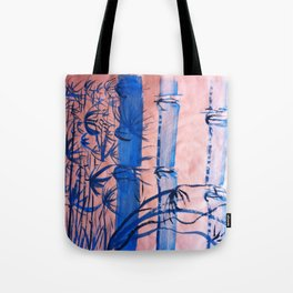 BLUE BAMBOO Tote Bag