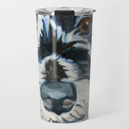 Elvis the Dog Portrait Travel Mug