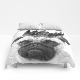 Notorious PUG Crown Comforters