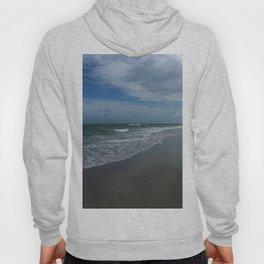 Serene Beach Scene Hoody