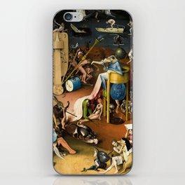 The Garden of Earthly Delights - Bosch - Hell Bird Man Detail iPhone Skin