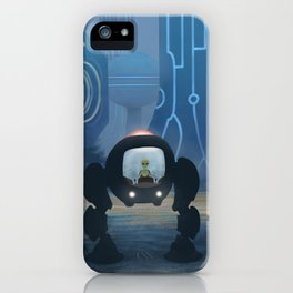 Voraxian Mech-cruiser iPhone Case