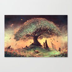 Follow our rules Canvas Print