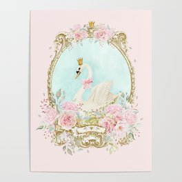 The shabby Swan Poster