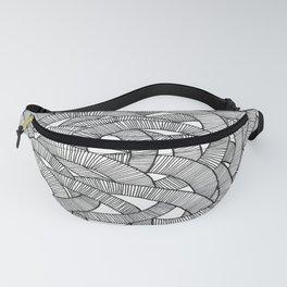 Macro Knit  Fanny Pack