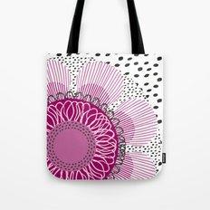 Pinky flower Tote Bag