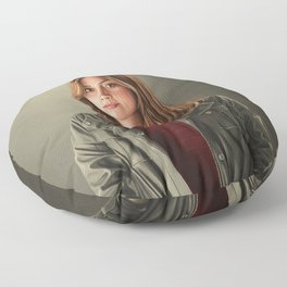 The Impossible Girl Floor Pillow