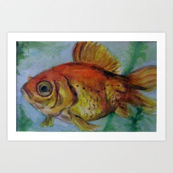 Fish Eye Art Print