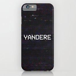 YANDERE iPhone Case