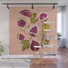Fig Collection – Blush Wall Mural