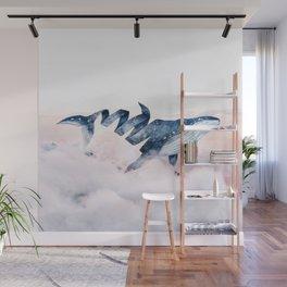 Magic Whale Wall Mural