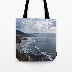 Coastal Cliff Tote Bag