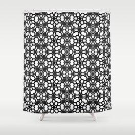 Gu-goa Plexus Shower Curtain