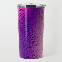 Purple Snake Skin Travel Mug