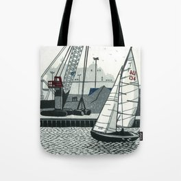 Poole Quay Tote Bag