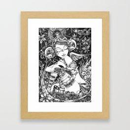 L'Ange Tombé Framed Art Print