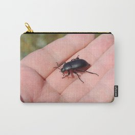 Insects on hand in the village Carry-All Pouch