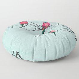 Cardinal Birds Floor Pillow